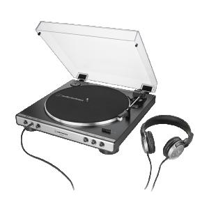 AT-LP60XHP 全自動黑膠唱盤耳機組