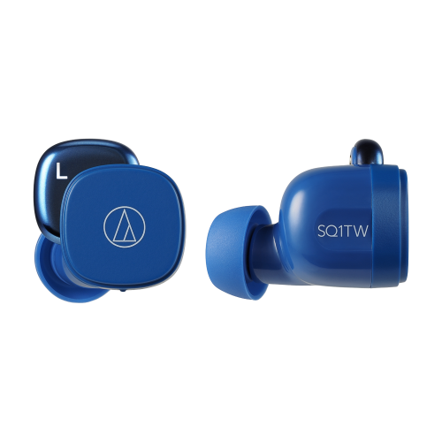 ATH-SQ1TW 真無線耳機 (藍色)