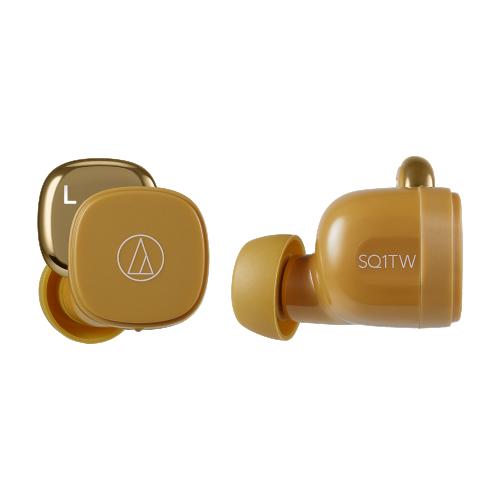 ATH-SQ1TW 真無線耳機 (芥末黃)