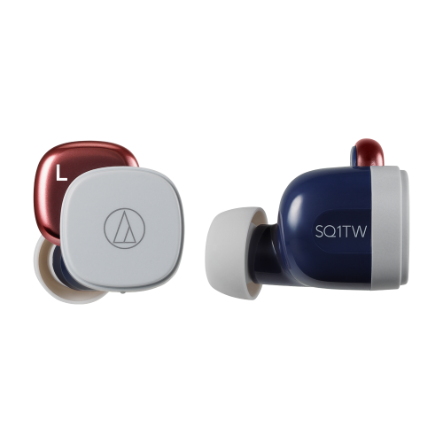 ATH-SQ1TW 真無線耳機 (紺紅)