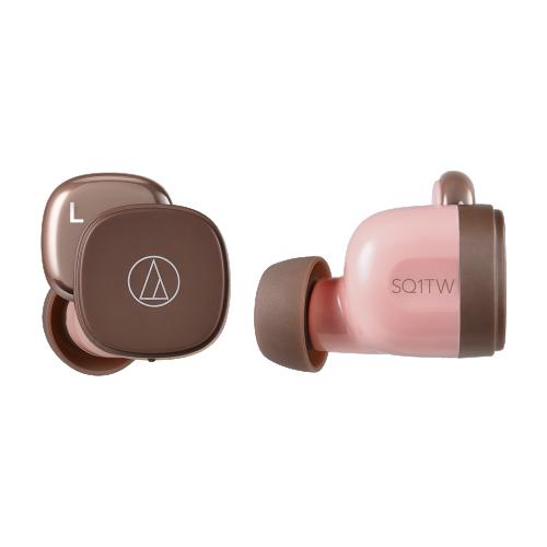 ATH-SQ1TW 真無線耳機 (粉咖啡)