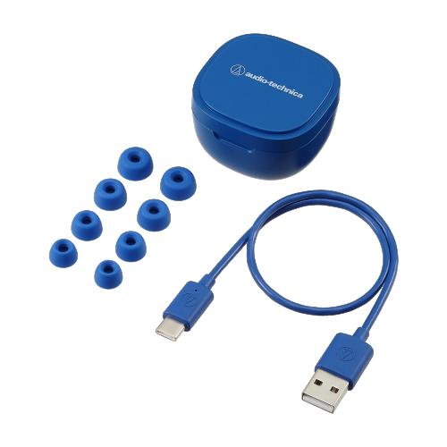 ATH-SQ1TW 配件 (藍色)