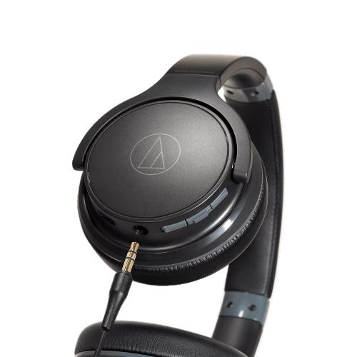 ATH-S220BT 耳 罩式藍芽耳機 (黑色)