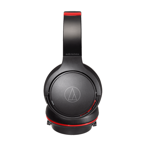ATH-S220BT全罩式藍芽耳機 (黑紅)