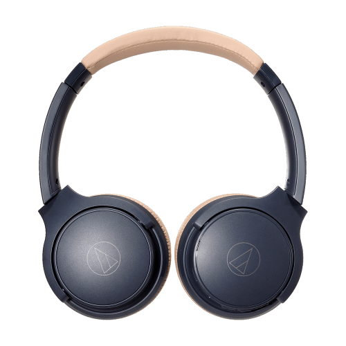 ATH-S220BT 藍 芽耳罩耳機 (灰藍杏)