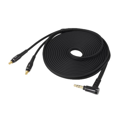 ATH-AP2000Ti 隨附導線(3.0m/Ø3.5mm鍍金立體聲迷你插頭/ L型)