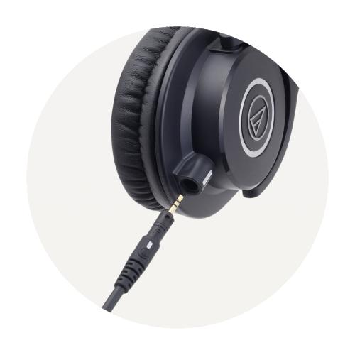 ATH-M40x 專業型監聽耳機
